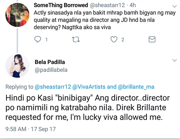 Bela Padilla decides to delete her Twitter posts