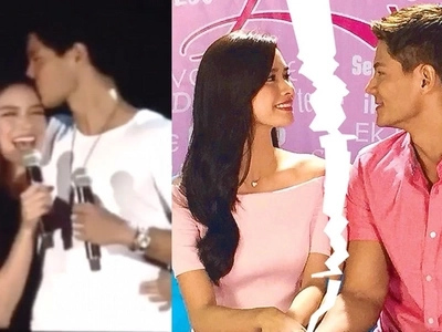 There's more than meets the eye. Erich Gonzales and Daniel Matsunaga are keeping it sweet only for the sake of fans
