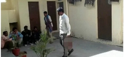 Man, 38 DECAPITATES his wife for cheating, carries her head to police station (photos)