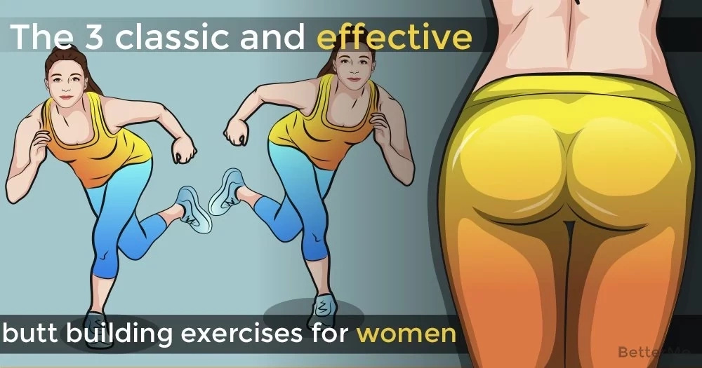 The 3 classic and effective butt-building exercises for women