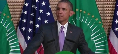 Obama Makes History By Becoming First US President To Address The African Union