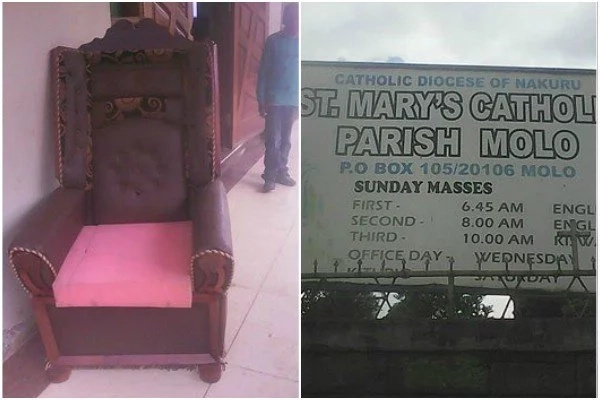 Catholic church rejects EXPENSIVE chair after governor sat on it (photo)