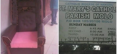 Catholic church rejects EXPENSIVE chair after governor sat on it