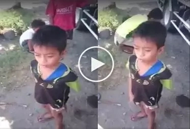 Video of a young boy singing Flashlight went viral; his angelic voice will melt your heart