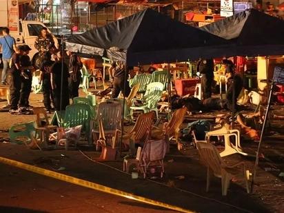 Huwag naman sanang maulit! Life-threatening bomb found on Roxas Blvd. similar to IED in the dreadful Davao explosion