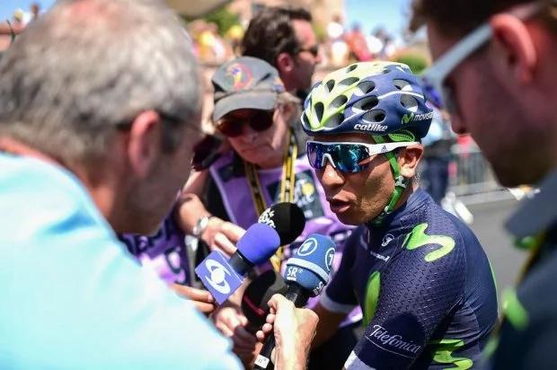 Stephen Cummings celebró en la montaña del Tour de Francia