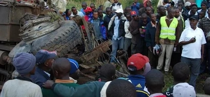 Five Killed Along Nairobi-Namanga Highway Accident