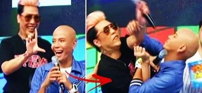 Ang lakas kasi mang-asar! Watch Wacky Kiray attack Vice Ganda after he was made fun of on 'It's Showtime!'