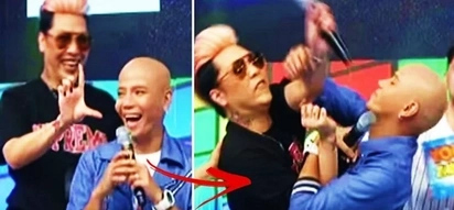 Ang lakas kasi mang-asar! Watch Wacky Kiray attack Vice Ganda after he was made fun of on 'It's Showtime!'