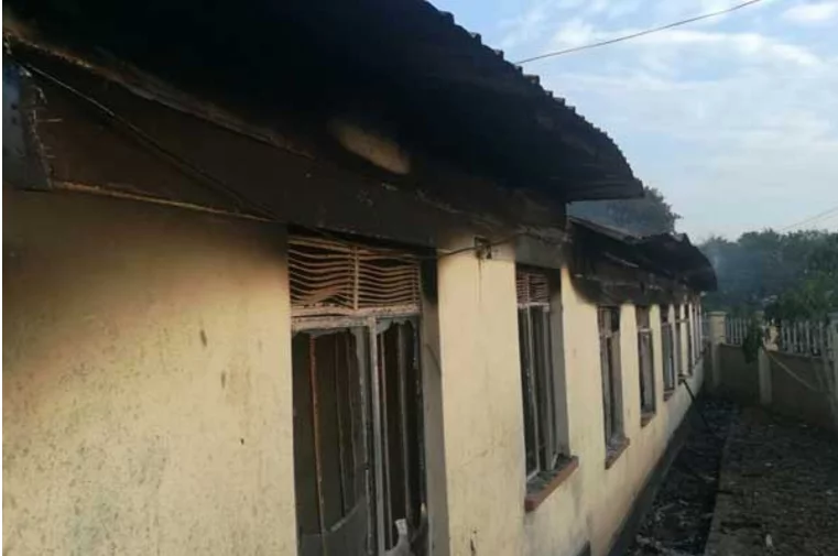 ODM governor's offices in Homa Bay burnt down days after EACC raid
