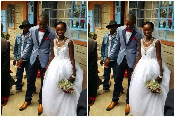 10 unbelievably hot photos of the 3.5 million grand wedding organised for the KSh 100 wedding couple