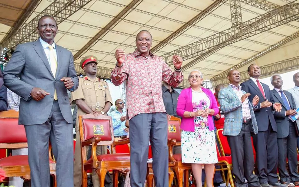 President Uhuru's favourite clothing captured in six pictures