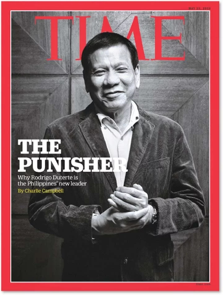 President Rodrigo Duterte wins TIME 100 most influential people poll