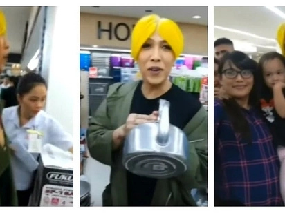 Unkabogable sa kayamanan at kasikatan! Epic video of Vice Ganda's Christmas shopping in SM Megamall goes viral