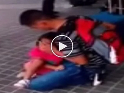 Di mo ako mahal! Heartbroken little girl hysterically begs OFW father not to leave her again