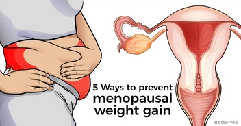 4 causes of menopausal weight gain and 5 ways to prevent it