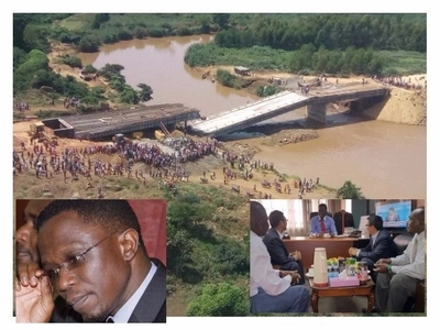 The tale of Ababu Namwamba, his cousin, the Chinese company and the unceremonious collapse of the Sigiri bridge