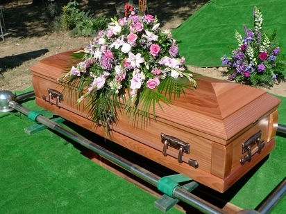 Tension after furious mourners dump coffin in supermarket