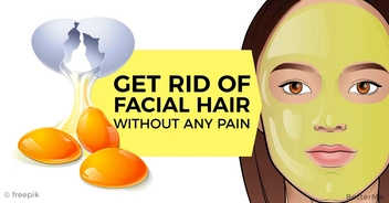Effective remedy that can help you remove facial hair at home