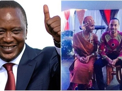 Irrefutable proof that Uhuru Kenyatta's daughter-in-law is heavily pregnant