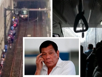 Sorry! Duterte apologizes for detached MRT coach