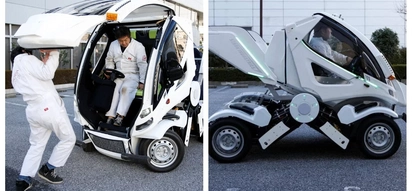 """Transformers"" are coming to life in Japan as real-life folding cars get ready for sale"