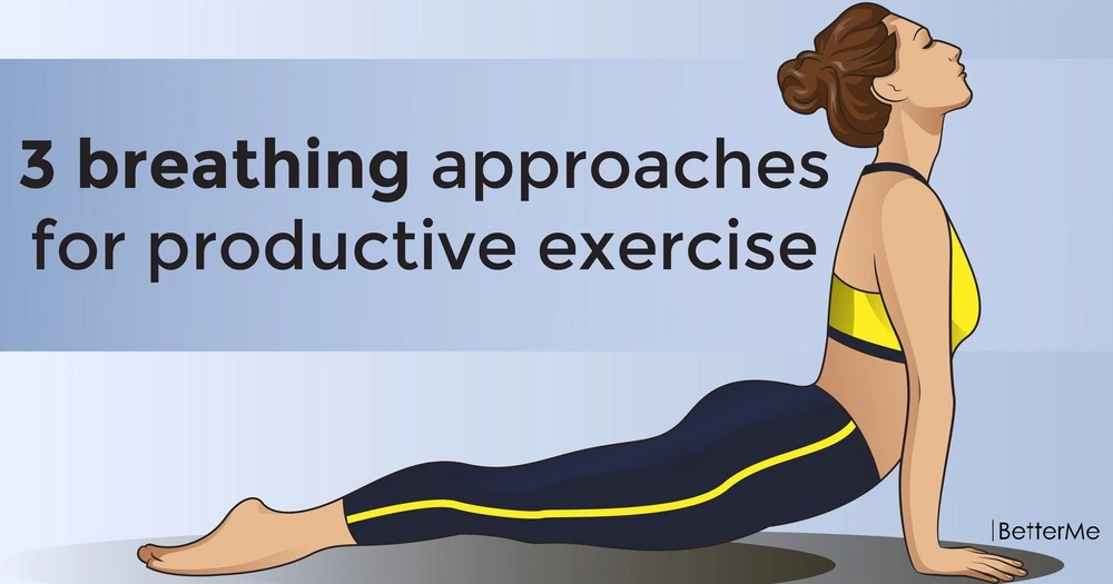 3 breathing approaches for productive exercise