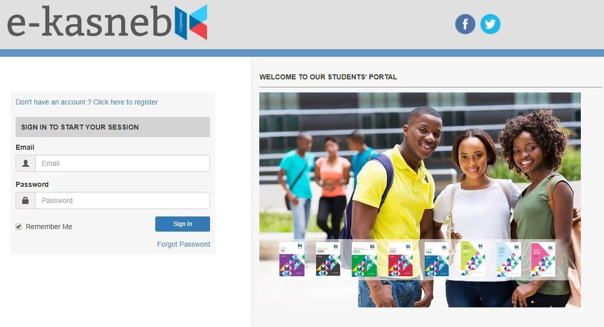 How To Sign Up On KASNEB Student Portal And Pay KASNEB CPA Exam Fees