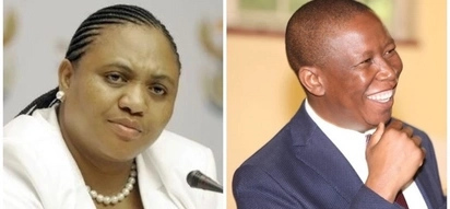 Thoko Didiza struggles not to laugh while Juju speaks of Parliament members' age