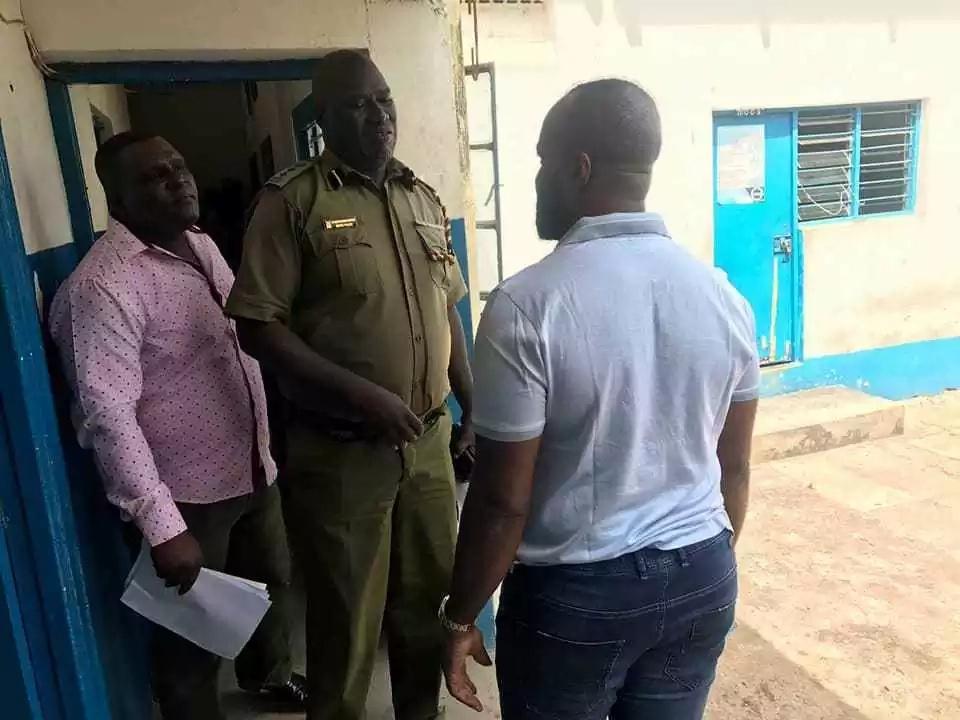 Sokomoko Mombasa, Gavana Hassan Joho akamatwa na polisi