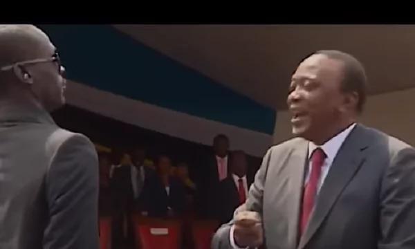 Uhuru Kenyatta conned me- artist cries foul