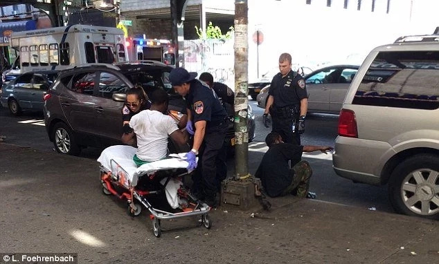 Walking Dead imitation: 33 New Yorkers found passed out