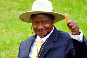 Photos: See the cheap phone that President Yoweri Museveni uses