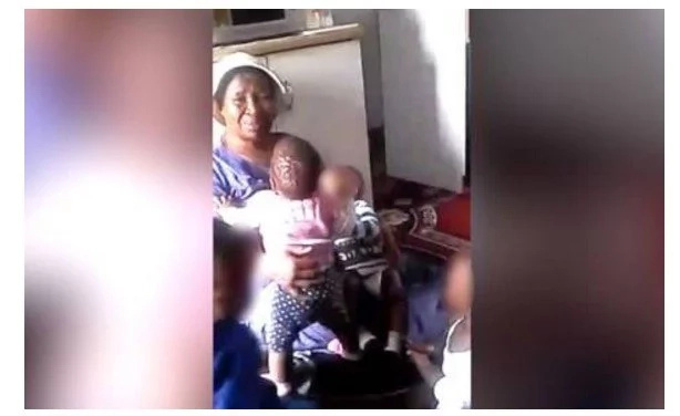 Caretaker VIOLENTLY shakes 8-months-old baby to stop him crying