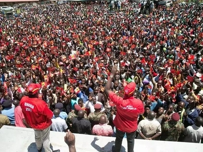 Nyanza Jubilee Party supporters vow to vote on October 26
