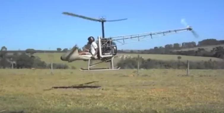 Mkenya afanikiwa kupeperusha helikopta yake ya kujiundia. Haya ndiyo matokeo! (VIDEO)
