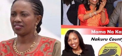 Young female Jubilee politician in TROUBLE for using her sponsor's money in campaigns