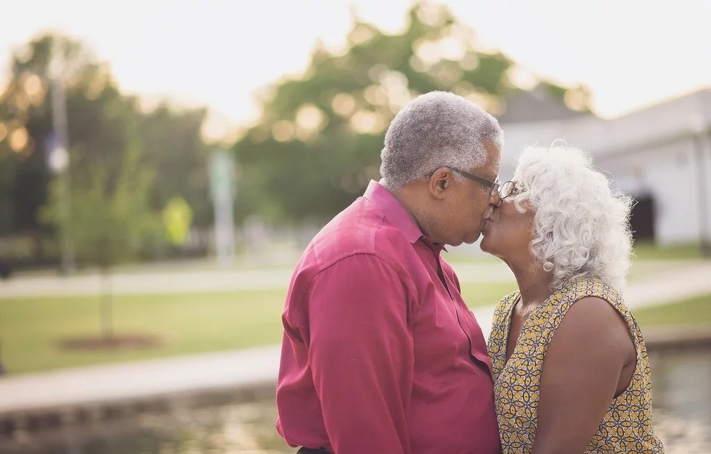 Ageless love! Senior couple tie the knot a month after their viral engagement photo that left everyone awed