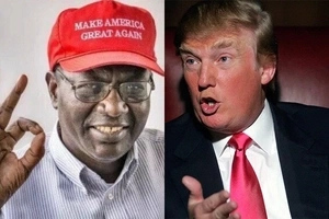Obama's Brother: Trump — Is Everything, Clinton — Not.