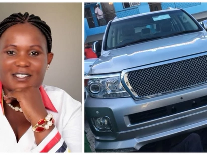 Jubilee Women Rep excites social media after she splashed Ksh15m on husband's Christmas gift