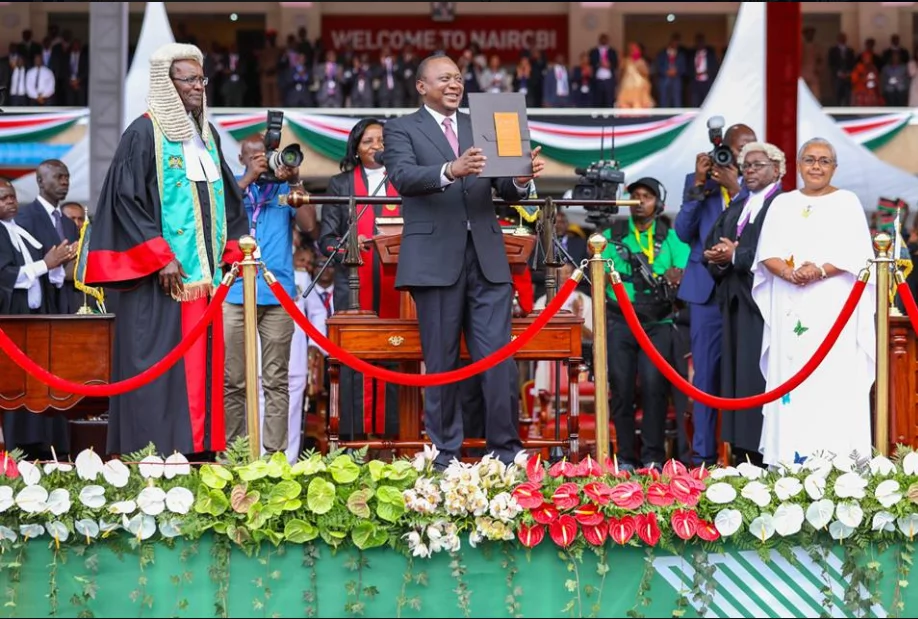 My victory does not mean your choice was useless - Uhuru tells Raila supporters