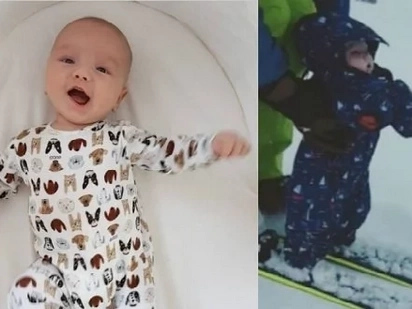 Filipina-British model Georgina Wilson finally shared of her Baby Archie Burnand photos in public