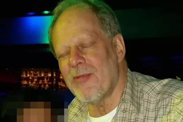 Stephen Paddock, the shooter. Photo: Daily Mirror