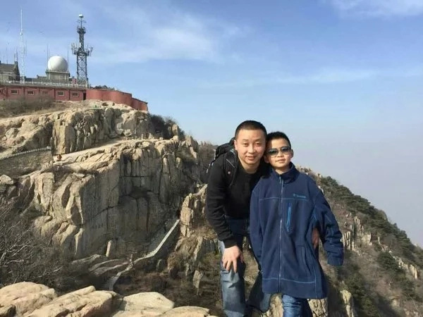 Cao wishes to travel again with his father. (Photo credit: shanghaiist.com)