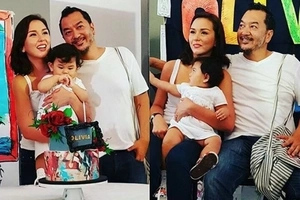 Beauty Gonzales' baby celebrates her first birthday with an artsy theme