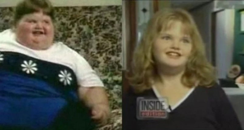 World's FATTEST child! See 190kg girl making striking transformation to get her childhood back (photos, video)