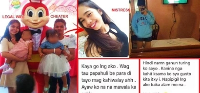 This Pinoy husband's secret affair got exposed after his mistress' Facebook account was hacked. Her photos & private messages will shock you!
