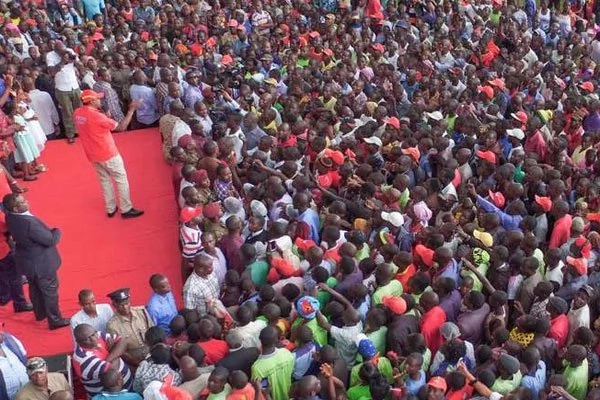 Uhuru stance on Raila