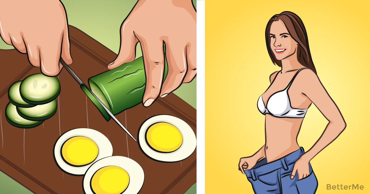 Cucumber, egg weight loss diet can help you lose up to 3 pounds in 7 days