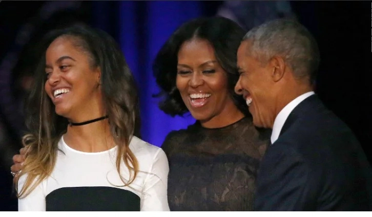 Why Sasha Obama did not attend her father's last speech